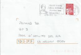 Flamme De Vitry Le François (Marne) Sur Enveloppe : Trans'Marne Fabien Ghiloni - VTT - Mountain Bike
