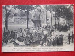 """35 - VITRE - """" INAUGURATION DU CHATEAU-HOTEL DE VILLE - 13 MAI 1913 - CORTEGE FLEURI BALLET DE LA DUCHESSE ANNE.... - Vitre"""