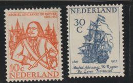 Nederland 1957 NVPH Nr. 693+694  MLH - 1949-1980 (Juliana)