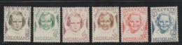 Nederland 1948  NVPH Nr. 454-459  MLH - 1949-1980 (Juliana)
