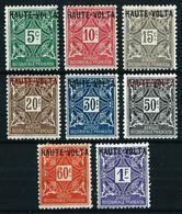 Alto Volta (Francés) Tasa-1/8 Nuevo(*)/* - Upper Volta (1920-1932)