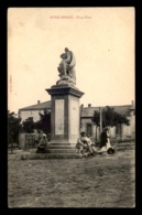 ALGERIE - OUED-ZENATI - PLACE ELOA - STATUE ELOA  - POEME D'ALFRED DE VIGNY - SCULPTEUR JOSEPH MICHEL POLLET - Autres Villes