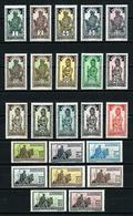 Alto Volta (Francés) Nº 43/65* Cat.97,90€ - Unused Stamps