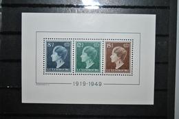 Luxembourg 1949 Bloc Y&T 7 MNH (trace Au Verso) - Blocchi & Foglietti