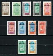 Alto Volta (Francés) Nº 24/32-41/2 Nuevo* - Unused Stamps