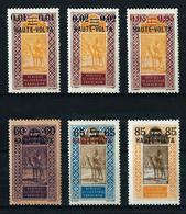 Alto Volta (Francés) Nº 18/20-21/3 Nuevo* - Unused Stamps