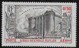 AFRIQUE EQUATORIALE FRANCAISE - AEF - A.E.F. - 1939 - YT PA 9** - Neufs