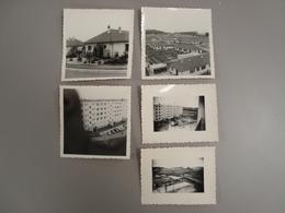 LOT DE 5 PHOTOS BALLANCOURT - Places