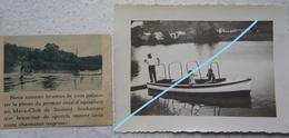 Photo SAUHEID Chaudfontaine Embourg Mava Club Aquaplane Circa 1945 Liège - Lieux