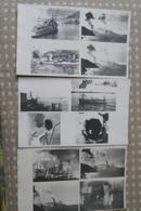24 Photos Attaque De Mers El-Kébir Juillet 1940  WW2 Navires De Guerre - Guerre, Militaire