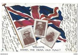 AFRIQUE DU SUD - Welcome Under The Dear Old Flag - 1902 - Guerre Des Boers - Afrique Du Sud