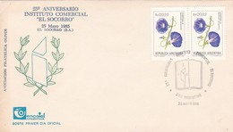 "25° ANIVERSARIO INSTITUTO COMERCIAL ""EL SOCORRO"". ARGENTINA YEAR 1985 EL SOCORRO SPC -LILHU - Argentina"