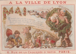 ***  Chromo  ***  PARIS  à La Ville De Lyon Ganterie -- - Other