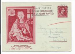 Belgien P 178 Memling-Ausstellung Bedarfsverwendet - Interi Postali