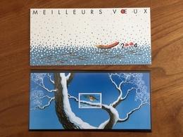 Souvenir Philatélique MEILLEURS VOEUX 2004 ROUGE GORGE - 2003 - Y&T BS1 Ou BF 65 - Neuf ** - Blocs Souvenir