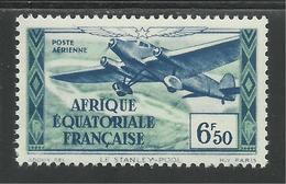 AFRIQUE EQUATORIALE FRANCAISE - AEF - A.E.F. - 1937 - YT PA 6** - MNH - Unused Stamps