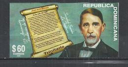 DOMINICAN REPUBLIC 2013 - 175th ANNIVERSARY SECRET SOCIETY LA TRINITARIA - POSTALLY USED OBLITERE GESTEMPELT USADO - Dominicaine (République)