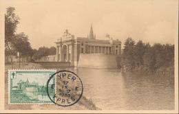 BELGIUM  1929 ISSUE IEPER COB 295 MC - Maximum Cards