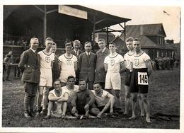 Photo Originale Die Teilnehmer Der Universitätswettkämpfe In Bonn, 1926 ( Gothen Und Schwaben) Concours Universitaires - Sport