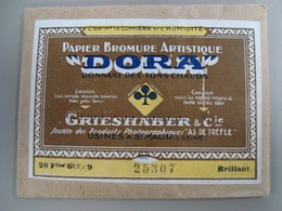 PAPIER BROMURE ARTISTIQUE DORA - Matériel & Accessoires