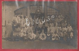 Ciney - L'Harmonie Royale ... Musiciens Déguisés - Carte Photo ( Voir Verso ) - Ciney