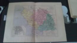 CARTE GEOGRAPHIQUE  -  DEPARTEMENT  DE  LA VENDEE - Cartes Géographiques