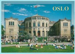 1008 - NOORWEGEN - NORWAY - OSLO - PARLEMENT (larger Format Postcard) - Norwegen
