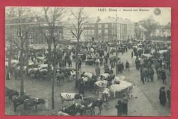 Ciney - Top Carte - Marché Aux Bestiaux  - 1916 ( Voir Verso ) - Ciney