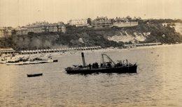 BOURNEMOUTH 1904 RPPC CARTE PHOTO - Barcos