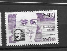 """France 2329 A Neuf ** """" Pierre Corneille """"- Sous Faciale - France"""