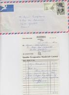 FULL LETTER. LASOTHO. 1975. LESOTHO CO-OPERATIVE HANDICRAFTS LIMITED MASERU TO FRANCE  / 2 - Lesotho (1966-...)