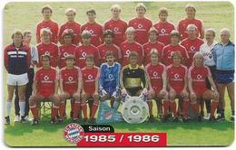 Germany - Bayern München Football Team #9, 1985-1986 - M 11 -06.2003, 2.000ex, Mint (check Photos!) - Deutschland