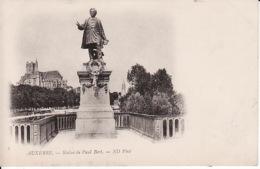 2106  353 Auxerre, Statue De Paul Bert  1902 - Auxerre