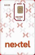 Argentina - Nextel - ARG-NEX-GSM-07, 2017 Issue, GSM SIM2 Mini, Mint - Argentina