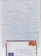 FULL LETTER.  TRINIDAD AND TOBAGO. 1976. BLANCHISSERIE. PORT SPAIN TO FRANCE  / 2 - Trinité & Tobago (1962-...)
