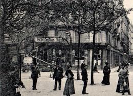 CPA 75 PARIS 11e Station De Métro OBERKAMPF édicule Guimard Rue De Malte Boulevard Voltaire Rue Crussol F. Fleury N°1700 - Arrondissement: 11
