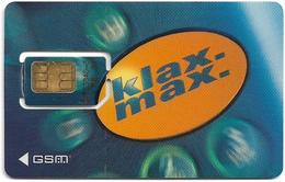 Austria - Max Mobil - Klax Max (Type 1), GSM SIM2 Mini, Used Fixed - Austria