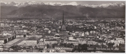 Cpsm Panoramica TORINO - Panorama Con Le Alpi (formato 8,5 X 21 Cm) - Panoramische Zichten, Meerdere Zichten