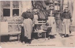 Bx - Cpa Groupe De Paysannes Creusoises - Francia