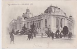 Bx - Cpa PARIS - Exposition Universelle - Le Petit Palais (circulé En 1900, Cachets De GAND Et PARIS ETRANGER) - Ausstellungen