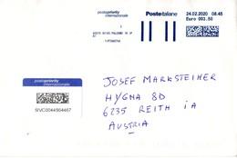 Auslands - Brief Von 90145 Palermo Mit € 3,50 Bar Frei 2020 - 1946-.. République