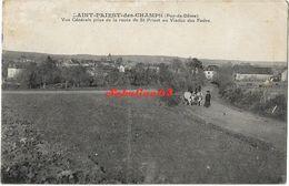 Saint-Priest-des-Champs - Vue Générale Prise De La Route De St-Priest Au Viaduc Des Fades - Other Municipalities