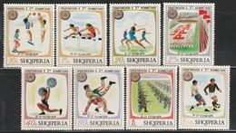 ALBANIE - N°1545/52 ** (1974) 3e Spartakiades - Albania