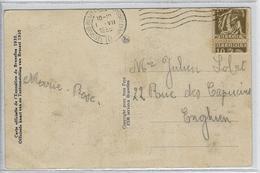 Rolzegel  -  Voorloper  -  Door Automaat Verkeerd Gedebuteerd In 1935  -   Uiterst Zeldzaam!   Verzonden Naar  Enghien - Rouleaux