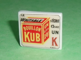 Fèves / Autres / Divers : Plaque Publicitaire , Bouillon Kub  T137 - Altri