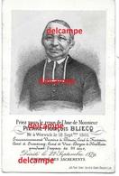 Doodsprentje Eerw. Pierre Bliecq Wervik 1803 Pastoor Cure Halliun En Aldaar Overleden 1879 Menen Blieck Douai FRessain - Images Religieuses