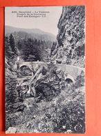 CPA (38) Gorges De La Drevenne.Pont Des Ecouges.  (N.275) - Autres Communes