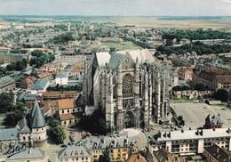 60, Beauvais, La Cathédrale Saint Pierre, Le Chœur, Vue Aérienne (Pilote Opérateur R. Henrard) - Beauvais