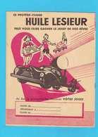 PROTEGE CAHIER: Huile LESIEUR Le Jouet De Vos Reves Voituresmusique - Protège-cahiers