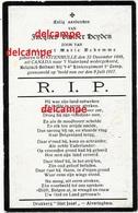 Oorlog Guerre JACQUES Vander Heyden Lotenhulle Soldaat Gesneuveld Te Kaaskerke Juli 1917 Begraven Te Oeren - Images Religieuses